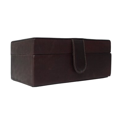 Piel Leather Small Multi-Use Leather Box