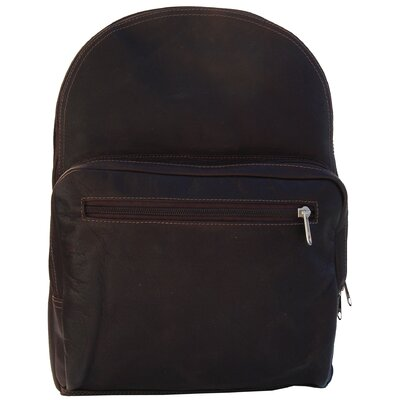 Piel Leather Traditional Leather Backpack