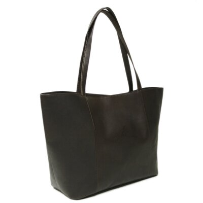 Piel Leather Fashion Avenue Women's Tote in Chocolate
