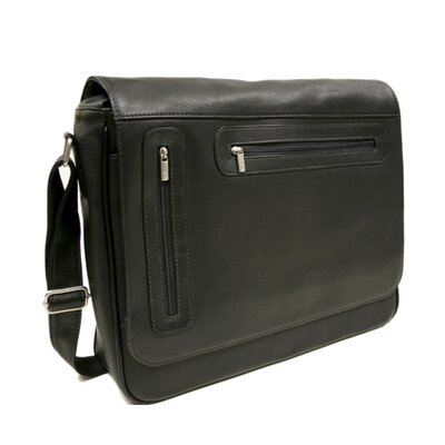 Entrepreneur Two-Zip Messenger Bag