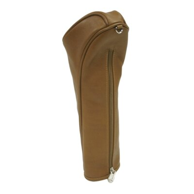 Piel Leather Golf Oversized Head Cover in Saddle