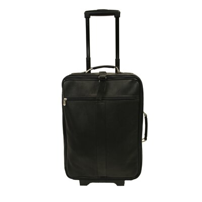 "Piel Leather Traveler 22"" Wheeled Traveler"