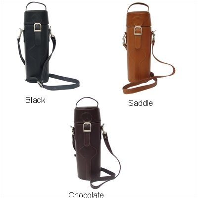 Piel Leather Adventurer Single Deluxe Wine Tote