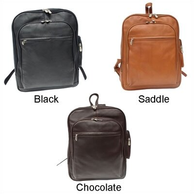 Piel Leather Entrepeneur Front-Pocket Computer Backpack