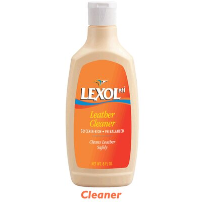 Piel Leather Lexol 8oz Leather Cleaner