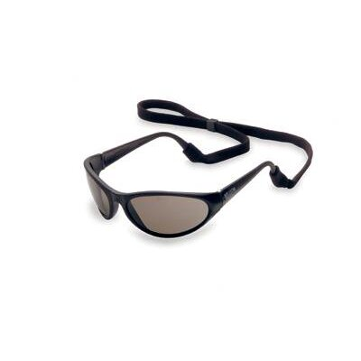Prevail® Safety Glasses With TSR® Gray Fog-Ban Lens And Black Frame