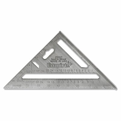 Empire Level Manufacturing Co Heavy Duty Rafter Square