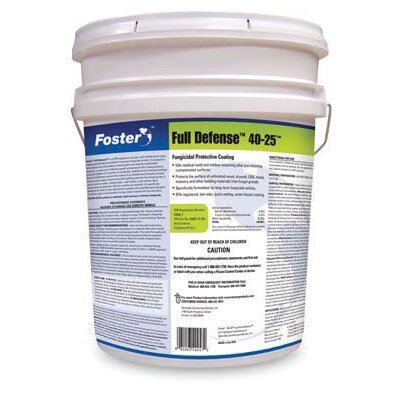 Foster Products Products 5 Gallon Pail Full Defense™ Fungicidal Protective Coating