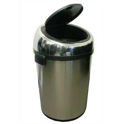 itouchless 18 Gallon Stainless Steel Touchless Trashcan
