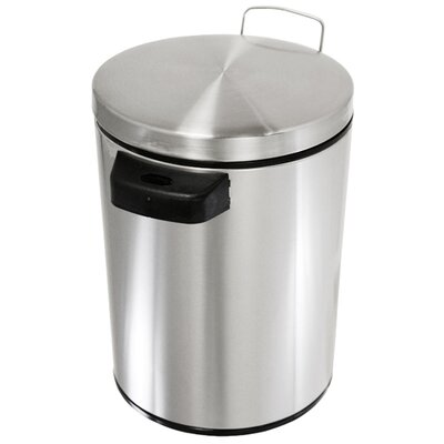 iTouchless 1.5-Gal. Stainless Steel Automatic Touchless Trash Can