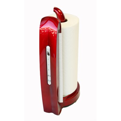 iTouchless Towel-Matic II Sensor Paper Towel Dispenser in Candy Apple Red