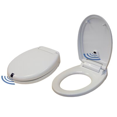 iTouchless Free Sensor Controlled Automatic Round Toilet Seat