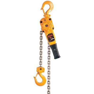 Harrington Hoists Inc Ton 20' LB Lever Chain Hoist