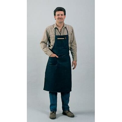 "John Tillman & Co X 38"" Blue 9 Ounce Westex® Proban® FR7A® Cotton Flame Retardant Apron With Waist Tie"