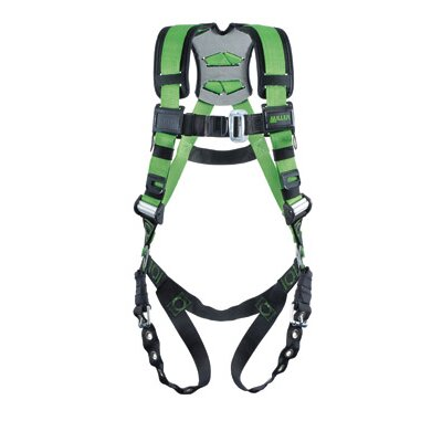 Miller Fall Protection Construction Style Revolution® Harness With Tongue Buckle Legs
