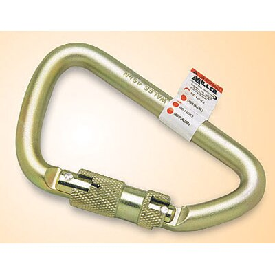 Miller Fall Protection Steel Spring Loaded Twist-Lock Carabiner