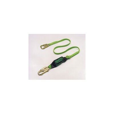 Miller Fall Protection Blue Backbiter™ Shock-Absorbing Tie-Back Lanyard With 5000 Pound Locking Snap Hook And One Locking Snap Hook And SofStop® Shock Absorber