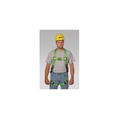 Miller Fall Protection Blue Python™ Ultra Full Body Harness With DuraFlex® Webbing, Front And Side D-Rings And Quick Connect Chest And Leg Strap Buckles
