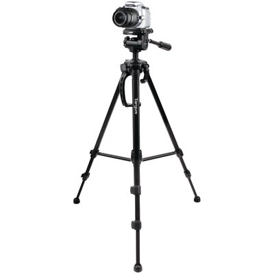 Targus® Tripod with 3-Way Panhead Bubble Level