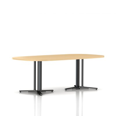 Herman Miller ® Everywhere Oval Table with 3-Column Base