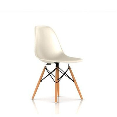 Herman Miller ® Eames Molded Fiberglass Side Chair with Dowel Base