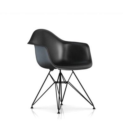 Herman Miller ® Eames Molded Fiberglass Armchair with Wire Base