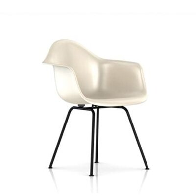 Herman Miller ® Eames Molded Fiberglass Armchair with 4-Leg Base