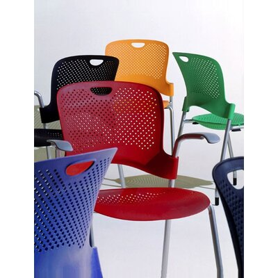 Herman Miller ® Caper Stacking Chair With FLEXNET™  Seat and No Arms