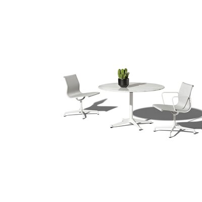 Eames 3 Piece Bistro Set