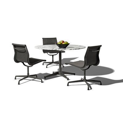 "Herman Miller ® Eames 4 Piece Dining Set with 42"" Table"