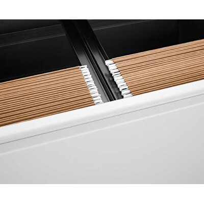 Herman Miller ® Tu Filing and Storage Front to Back Filing Rail