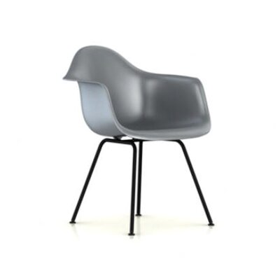 Herman Miller ® Eames DAX - Molded Plastic Arm Chair with 4 Leg Base
