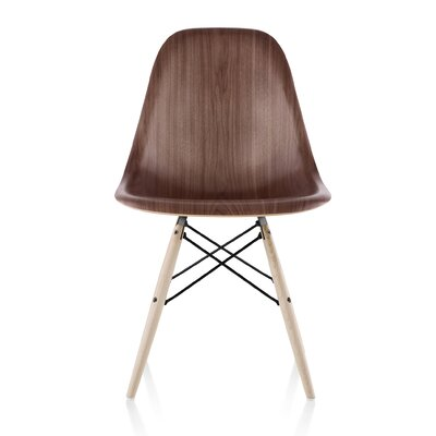 Eames Molded Wood Side Chair with Dowel Base