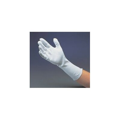 "Radnor 12"" Heavy-Weight Cotton Unhemmed Reversible Inspection Glove"