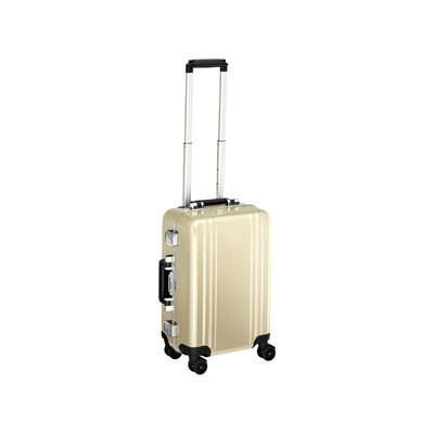Zero Halliburton Classic Polycarbonate Carry On 4 Wheel Spinner Travel Case