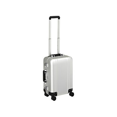 Zero Halliburton Classic Aluminum Carry On 4 Wheel Spinner Travel Case