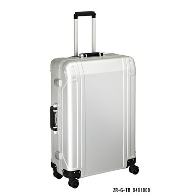"Zero Halliburton Geo Aluminum 28"" 4 Wheel Spinner Travel Case"
