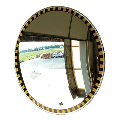 Se-Kure Controls, Inc Acrylic Indoor Convex Security Mirror With Safety Border