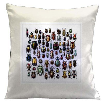 Lama Kasso Botanic Beetles Pillow