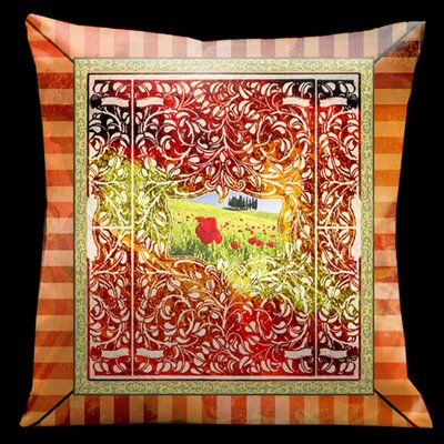Como Gardens Square Micro Suede Pillow