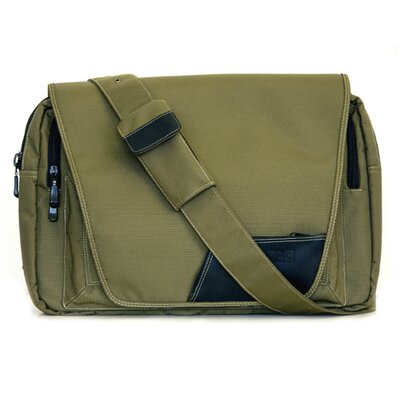 Diaper Dude Digi Dude Laptop Bag in Eco Green