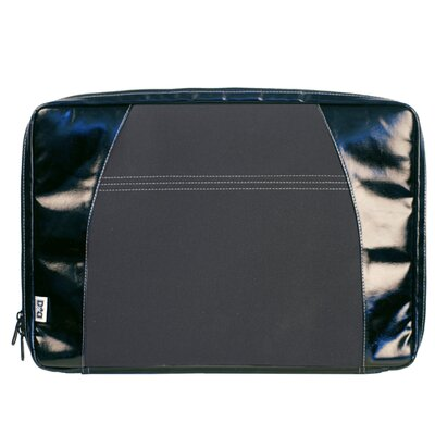 Diaper Dude Digi Dude Canvas Laptop Sleeve in Black Coated / Black