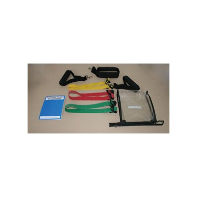 Cando Adjustable Exercise Band Kit (Set of 3)