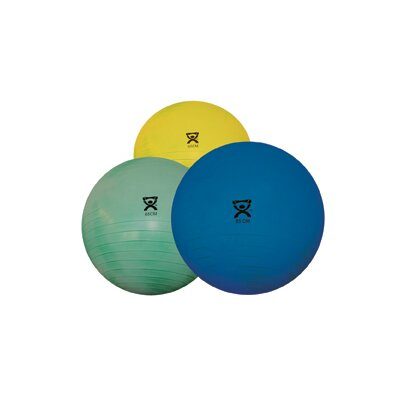 Cando Deluxe Extra Thick Inflatable Exercise Ball (Retail Box)