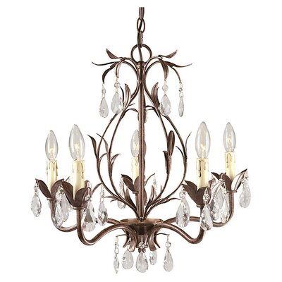 <strong>World Imports</strong> Bijoux 5 Light Mini Chandelier