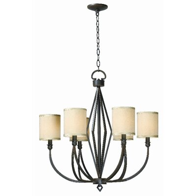 World Imports Decatur 6 Light Chandelier