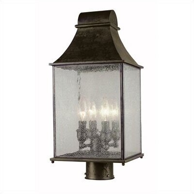 World Imports Outdoor 4 Light Post Lantern