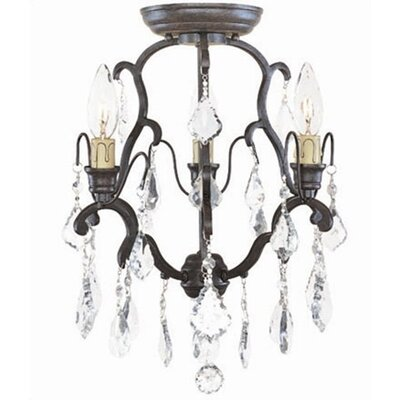 Timeless Elegance 3 Light Mini Chandelier
