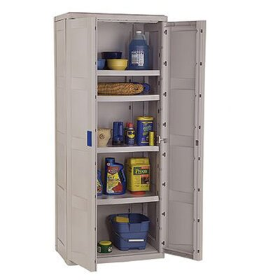 Storage cabinets wayfair - Tall kitchen utility cabinets ...