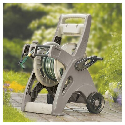 <strong>Suncast</strong> 175' Slide Trak Hosemobile Hose Reel Cart